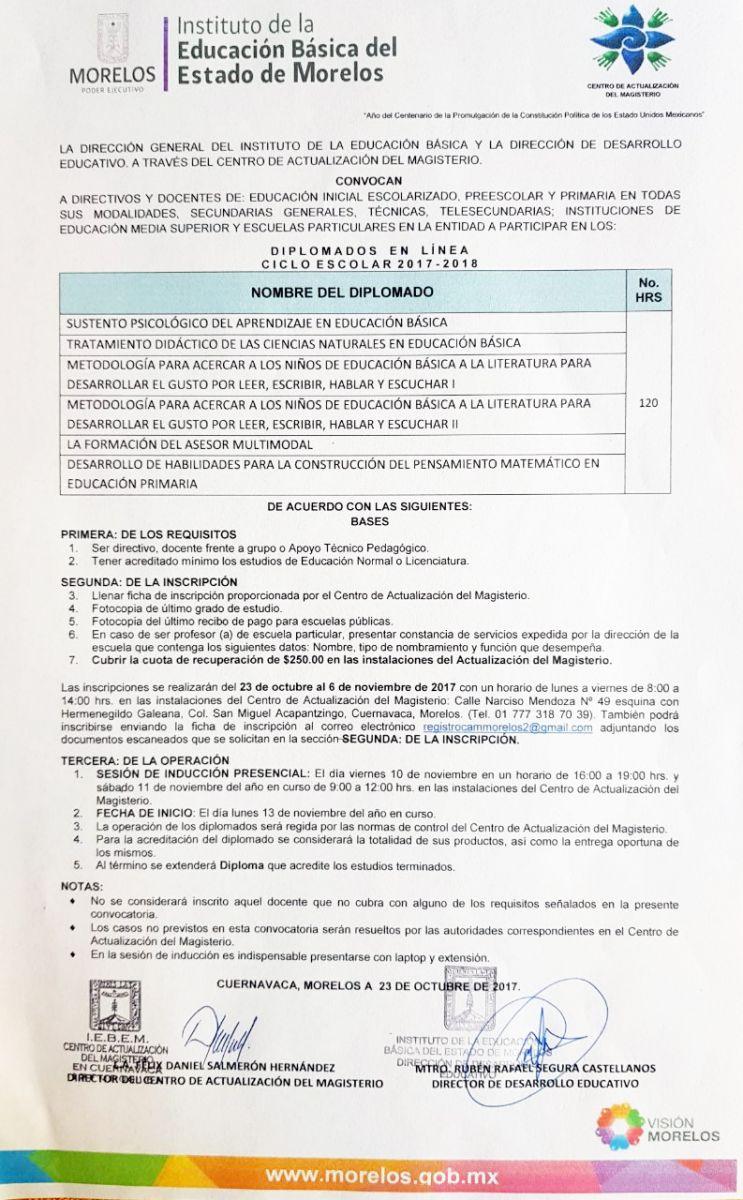 Educación | Instituto de la Educación Básica del Estado de Morelos